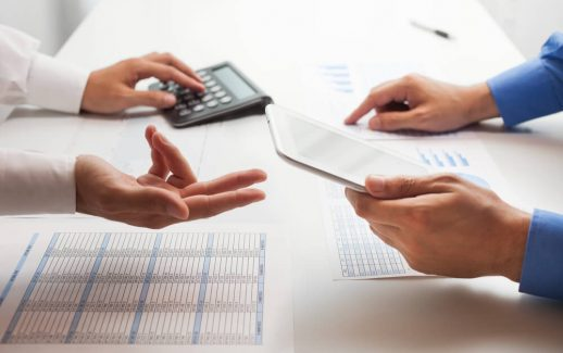 Processo de contas a pagar e receber
