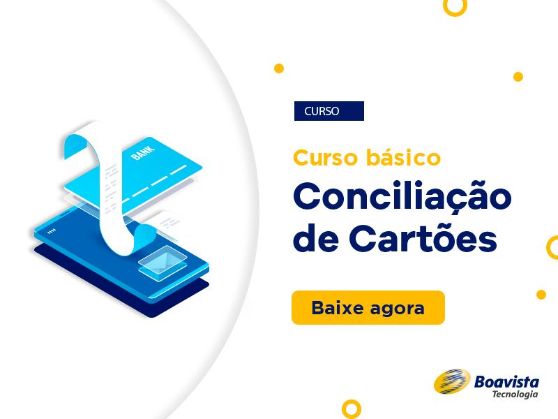 curso grátis de conciliação de cartões