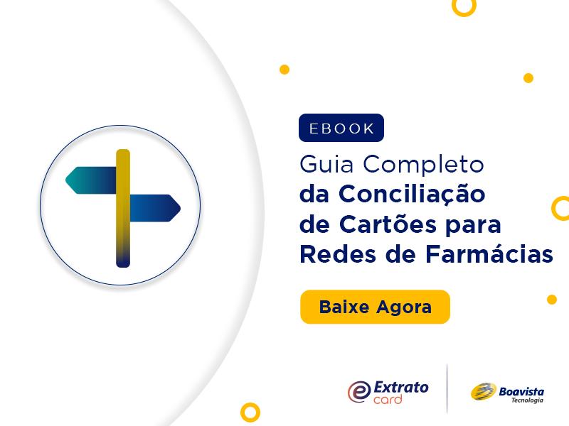 guia da conciliação de cartões para redes de farmácias
